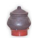 Earthen Black Curd Pot ( 250 Ml)