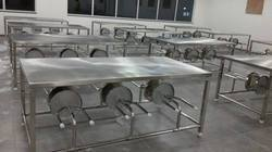 Silver SS Dinning Table