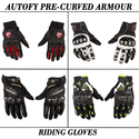 Autofy Bike Riding Gear Gloves