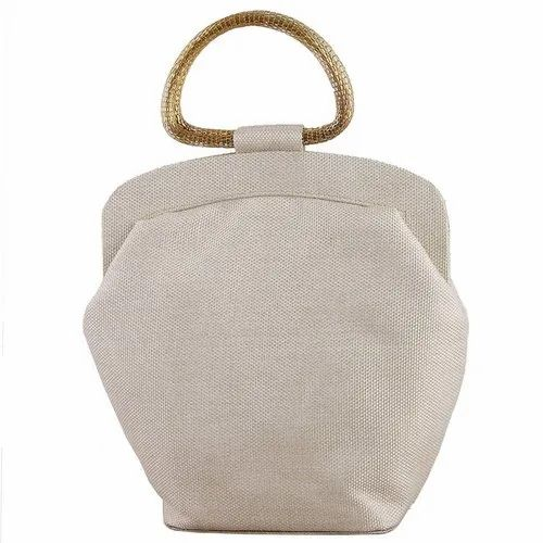 special price for meet moderate price Ladies White Clutch With Handle