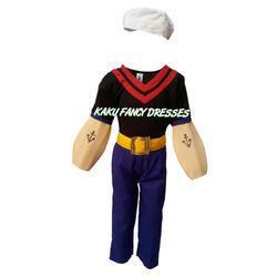 Kids Popeoye Fancy Dress Costume