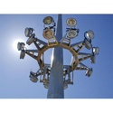 Motorized High Mast Lighting Pole