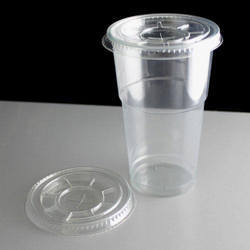 Disposable Glasses with Caps