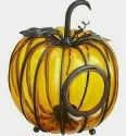Glass Handicraft Pumpkin, For Home, Size/dimension: 8 Inch