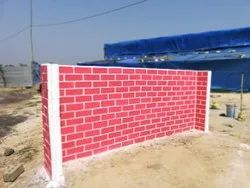 Fire Resistant Smart Block Bricks Wall