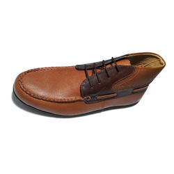 Mens Brown Leather Shoes, Size: 8 & 10