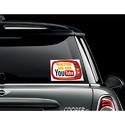 Car Decal Size: 1 X 1 Inch Wxh