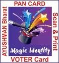 Aadhaar Pan Ayusmaan Voter Scan/print Software