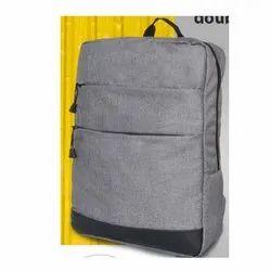 Double Front Pocket Slimz Melange Backpack Bag