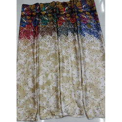 Faux Georgette Print Fabric