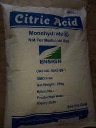 Citric Acid Monohydrate 8-40 Mesh
