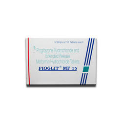 Pioglit MF 15 Tablet