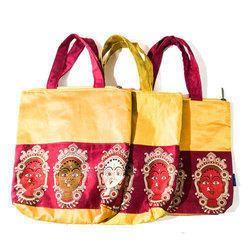 Yellow, Red Ladies Fancy Bag