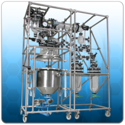 Glass Reactors and Distillation Units