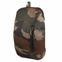 Army Green Polyester Sprint Waterproof Daypack