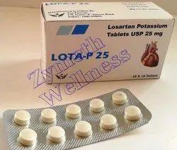 25 mg Losartan Potassium Tablets
