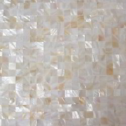 Mother of Pearl Tile, Thickness: 6 - 8 mm