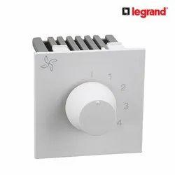 Legrand Britzy 100W 2 Module Fan Regulator