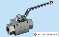 2 Way Ball Valve With Mounting Holes