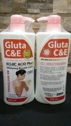 Gluta C and E Body Whitening Lotion, Pack Size: 400 mL