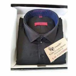 R.M.C Plain Mens Cotton Shirts