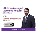 Ca Inter Advanced Accounts Regular Video Lecture