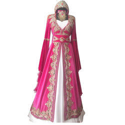 Pink And White Party Wear Ladies Suit