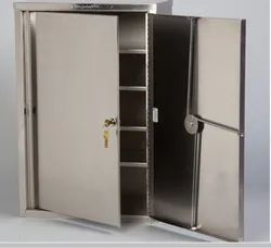 Stainless steel medicine/drug storage cupboard