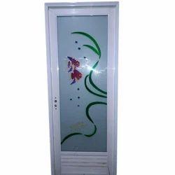 Pvc Bathroom Door In Delhi पीवीसी का स्नानघर का दरवाजा
