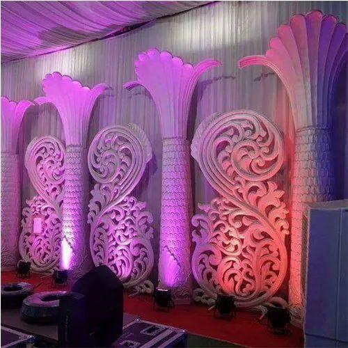 White FRP Wedding Decorative Item, for Decoration