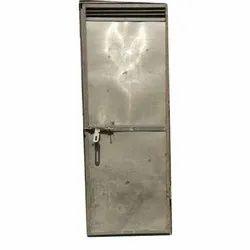 Silver Wrought Iron Door, Hinged, Material Grade: En-gjs-400-15