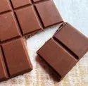 Rectangular Brown Milk Chocolate Bar