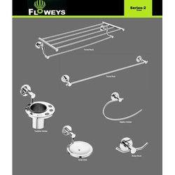 Floweys Brass fancy bathroom fitting set