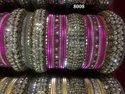 Stone Bridal Metal Bangles