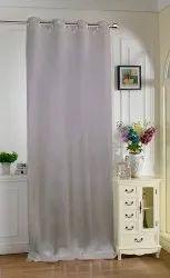 Lushomes Torronto Silk Plain Curtain Long Door