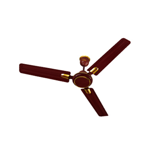 P Brown Metal Surya Ceiling Fan Aero Hi Speed 1200mm High Speed
