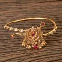 Gold Plated Antique Classic Baju Band 203209