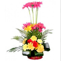 Mix Flower Basket Fb6