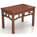 180x90x76cm Wooden Living Room Dining Table