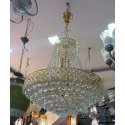 Led Round Decorative Crystal Chandelier, For Decoration