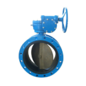 Double Flanged Eccentric Disc Butterfly Valve