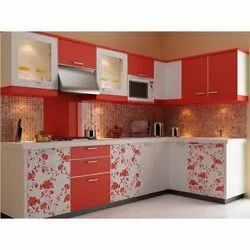 Commercial  L Shape Modular Kitchen