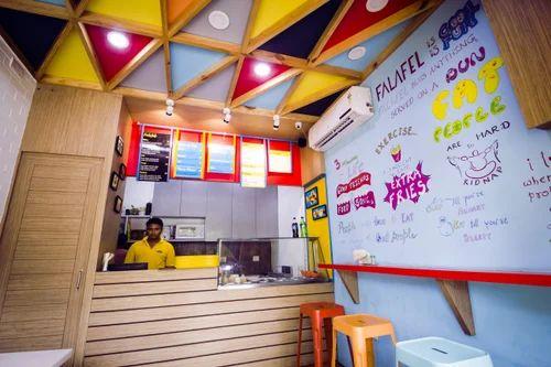 Cafe interior design jk designs