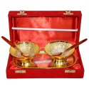 Gold Plated Bowl Set