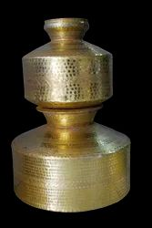 Hammared Beda Brass, For Home, Size: 32*25cm