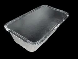 Rectangular Aluminium Food Containers