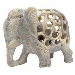 Handcarved Elephant Statue