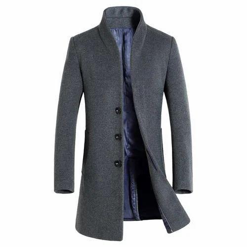 Small Medium Mens Long Trench Coat Rs, Fashionable Long Trench Coats