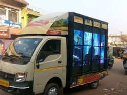 LED Video Van on Hire