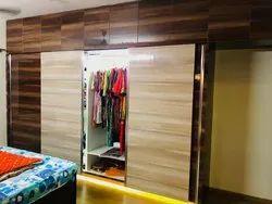 Bedroom Interior Designing Service, Work Provided: Wood Work & Furniture